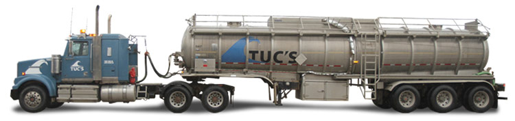 Tandem Tractor & Tri Axel Tanker Trailer